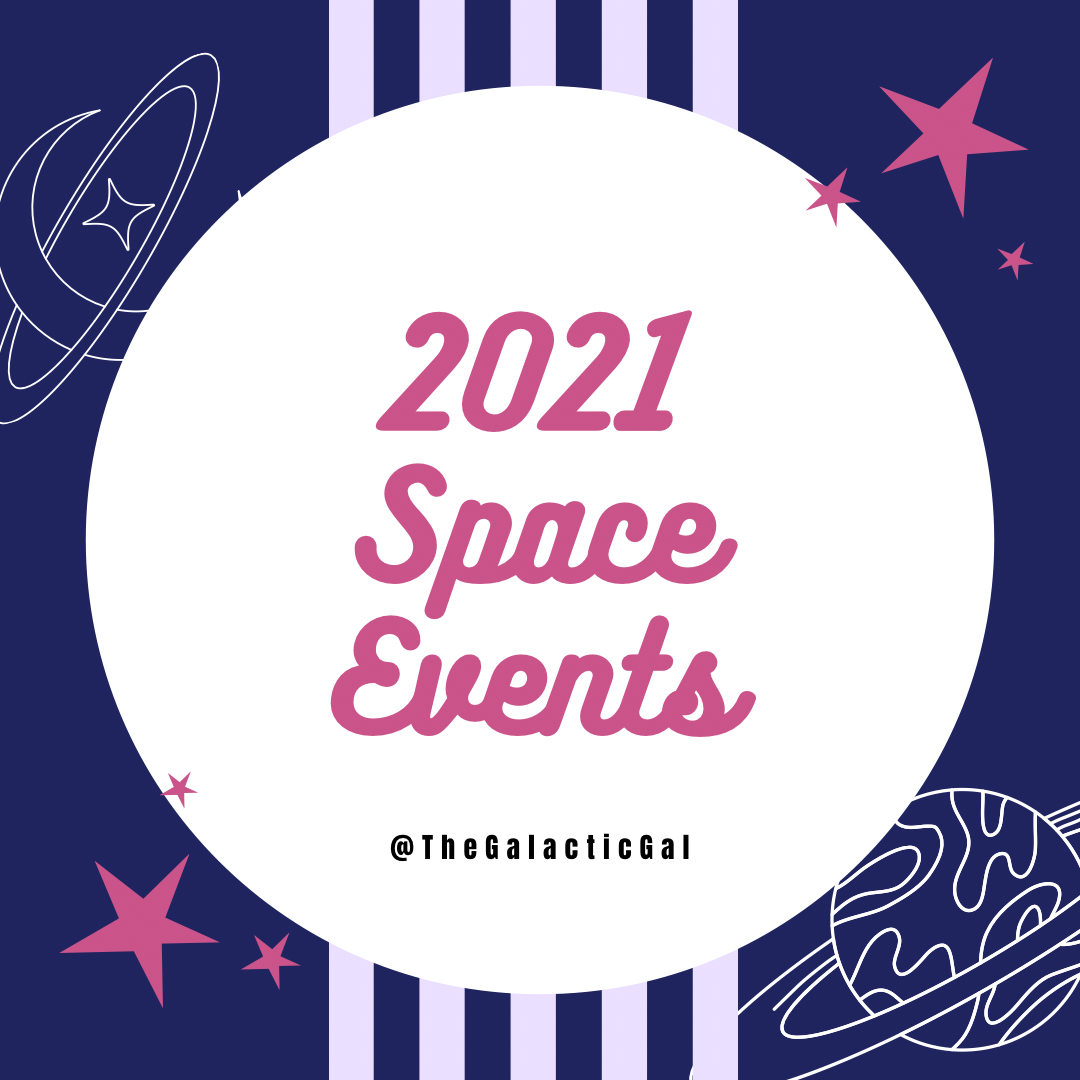 2021 Space Events